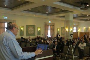 כנס הרבנים השנתי של מכון פוע״ה - פרופסור ברטוב